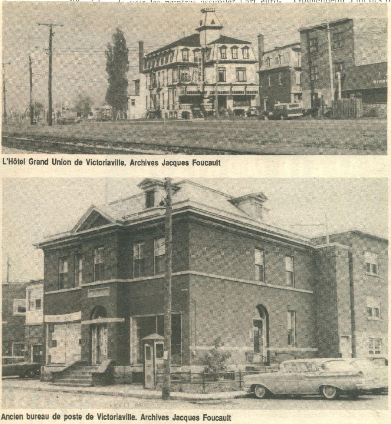 Villes p riph riques victoriaville - Bureau de poste gare de l est ...