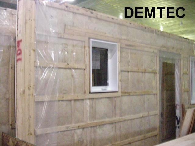 Maison mobile demtec for Fabricant maison mobile