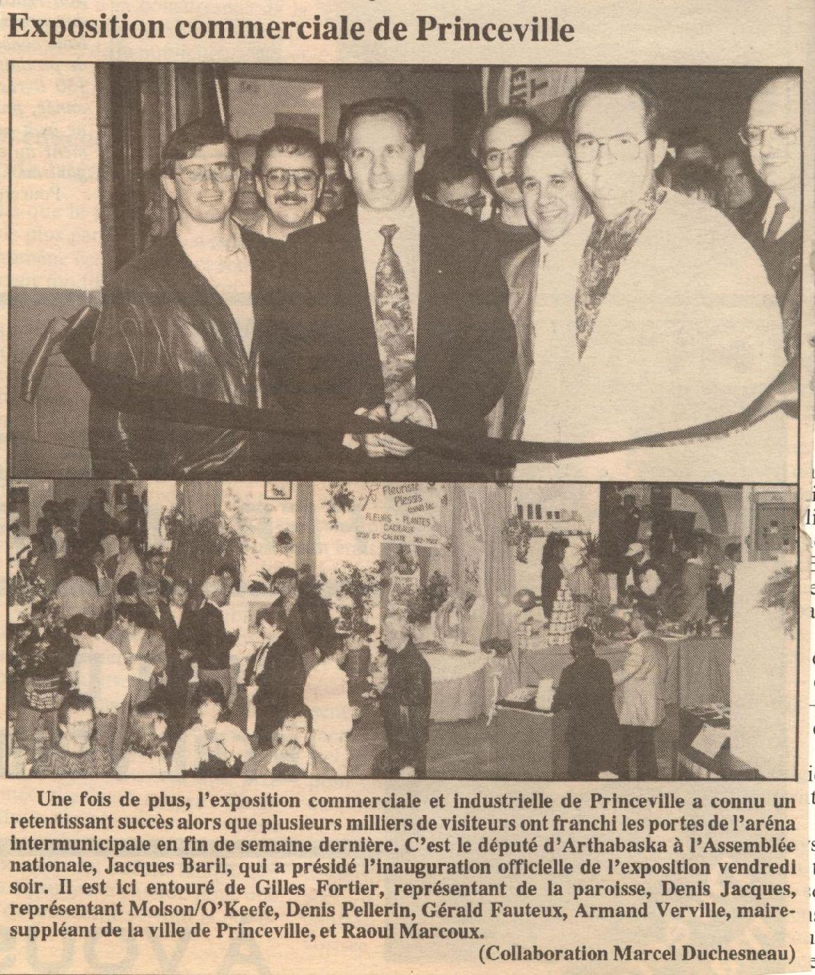 Exposition commerciale et industrielle de princeville for Chambre commerciale 13 octobre 1992