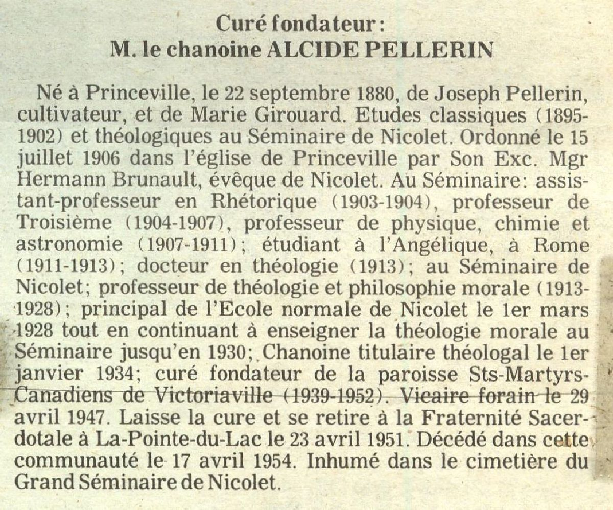 Princeville vie religieuse for Div p